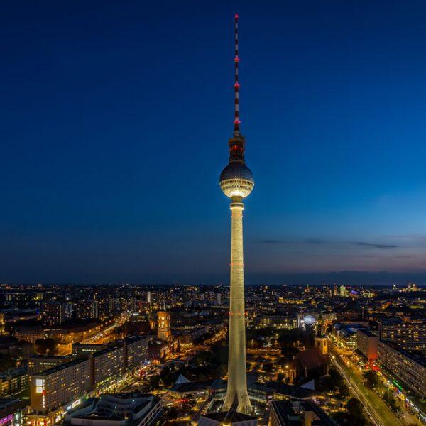 Berlin zur blauen Stunde